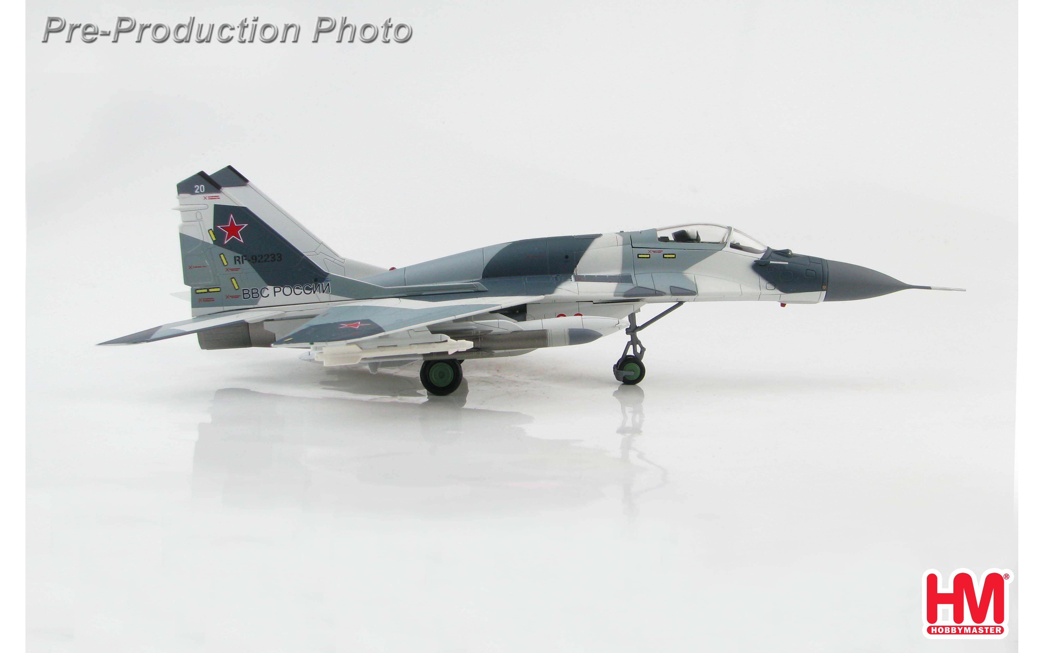 Krasnodar Higher Aviation Training  Faci Hobby Master HA0195,MIG-21SMT Blue 22