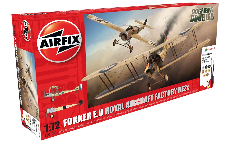 AIRFIX 1:76 FIGUREN A50177 WWI Fokker EII//RAF BE2C Dog Fight Doubles Gift Set